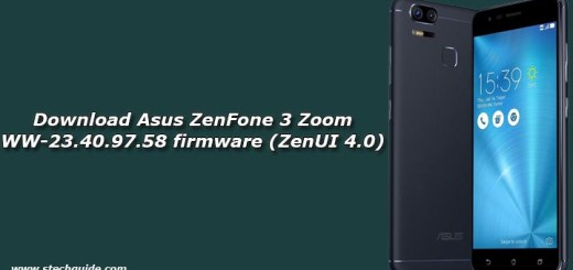 Download Asus ZenFone 3 Zoom WW-23.40.97.58 firmware (ZenUI 4.0)