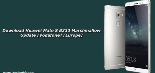 Download Huawei Mate S B333 Marshmallow Update