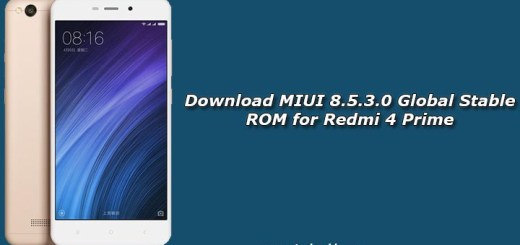 Download MIUI 8.5.3.0 Global Stable ROM for Redmi 4 Prime