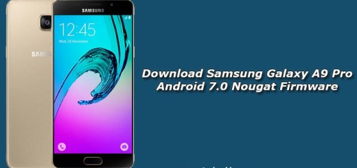 Download Samsung Galaxy A9 Pro Android 7.0 Nougat Firmware