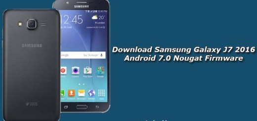 Download Samsung Galaxy J7 2016 Android 7.0 Nougat Firmware