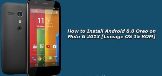 How to Install Android 8.0 Oreo on Moto G 2013 [Lineage OS 15 ROM]