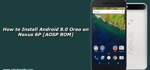 How to Install Android 8.0 Oreo on Nexus 6P [AOSP ROM]