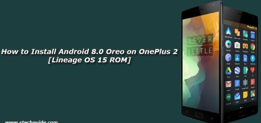 How to Install Android 8.0 Oreo on OnePlus 2 [Lineage OS 15 ROM]