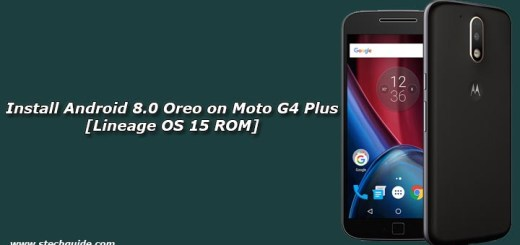 Install Android 8.0 Oreo on Moto G4 Plus [Lineage OS 15 ROM]