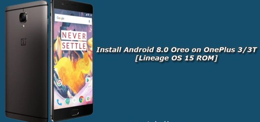 Install Android 8.0 Oreo on OnePlus 3/3T