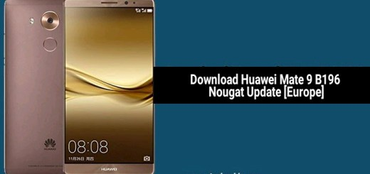 Download Huawei Mate 9 B196 Nougat Update [Europe]