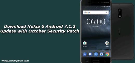 Download Nokia 6 Android 7.1.2 Update with October Security Patch