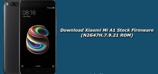 Download Xiaomi Mi A1 Stock Firmware (N2G47H.7.9.21 ROM)