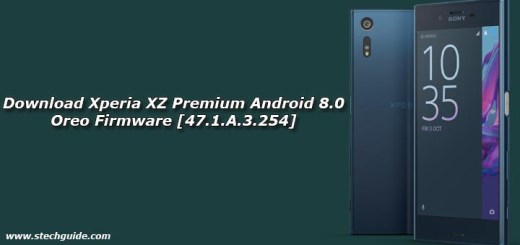 Download Xperia XZ Premium Android 8.0 Oreo Firmware [47.1.A.3.254]