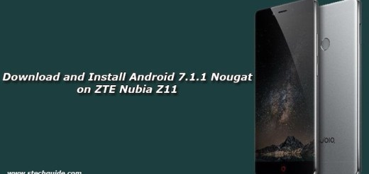 Download and Install Android 7.1.1 Nougat on ZTE Nubia Z11