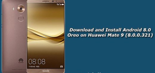 Download and Install Android 8.0 Oreo on Huawei Mate 9 (8.0.0.321)