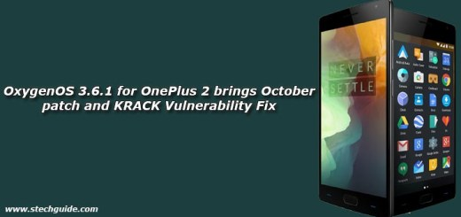 OxygenOS 3.6.1 for OnePlus 2 brings October patch and KRACK Vulnerability Fix