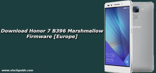 Download Honor 7 B396 Marshmallow Firmware [Europe]