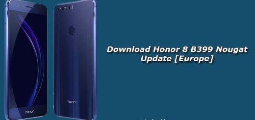 Download Honor 8 B399 Nougat Update [Europe]