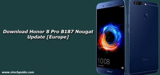 Download Honor 8 Pro B187 Nougat Update [Europe]