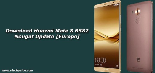 Download Huawei Mate 8 B582 Nougat Update [Europe]