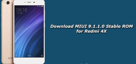 Download MIUI 9.1.1.0 Stable ROM for Redmi 4X