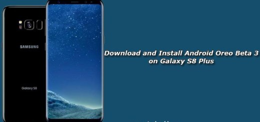 Download and Install Android Oreo Beta 3 on Galaxy S8 Plus