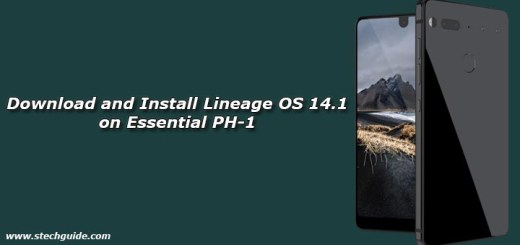 Download and Install Lineage OS 14.1 on Essential PH-1