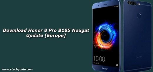 Download Honor 8 Pro B185 Nougat Update [Europe]
