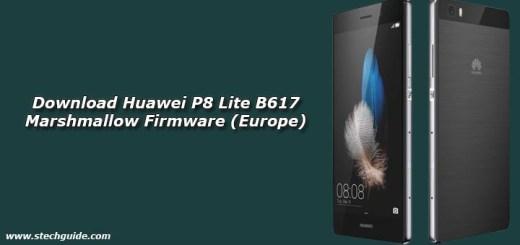 Download Huawei P8 Lite B617 Marshmallow Firmware (Europe)