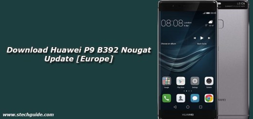 Download Huawei P9 B392 Nougat Update [Europe]