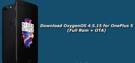 Download OxygenOS 4.5.15 for OnePlus 5 (Full Rom + OTA)