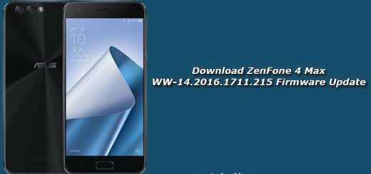 Download ZenFone 4 Max WW-14.2016.1711.215 Firmware Update