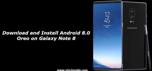 Download and Install Android 8.0 Oreo on Galaxy Note 8