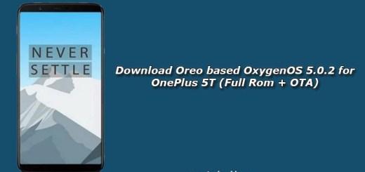 Download Oreo based OxygenOS 5.0.2 for OnePlus 5T (Full Rom + OTA)