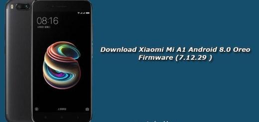 Download Xiaomi Mi A1 Android 8.0 Oreo Firmware (7.12.29 )