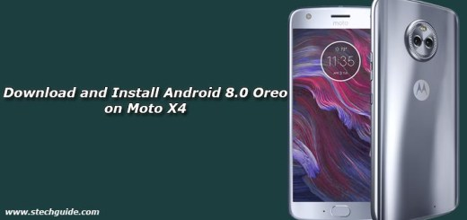 Download and Install Android 8.0 Oreo on Moto X4