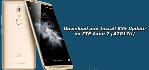 Download and Install B35 Update on ZTE Axon 7 [A2017U]