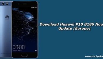 Download Huawei P10 B180 Nougat Update [Europe]