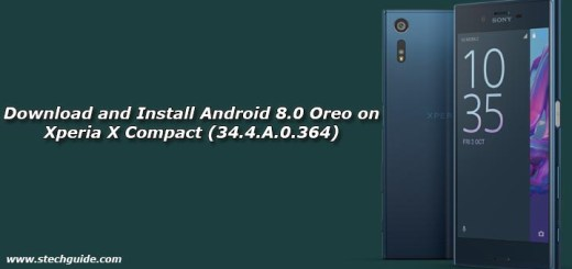 Download and Install Android 8.0 Oreo on Xperia X Compact (34.4.A.0.364)