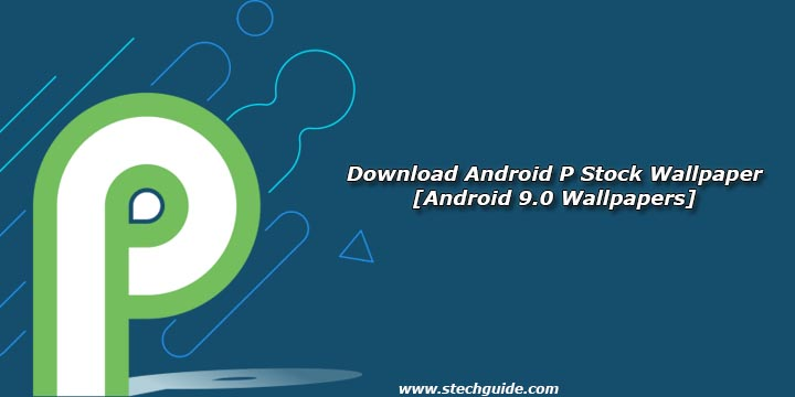 Download Android P Stock Wallpapers [Android 9.0
