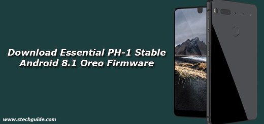 Download Essential PH-1 Stable Android 8.1 Oreo Firmware