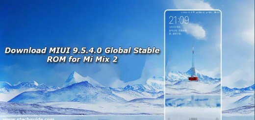 Download MIUI 9.5.4.0 Global Stable ROM for Mi Mix 2