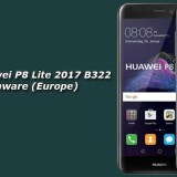 Download Huawei P8 Lite 2017 B322 Oreo Firmware (Europe)