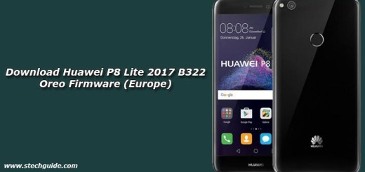 Download Huawei P8 Lite 2017 B322 Oreo Firmware (Europe)