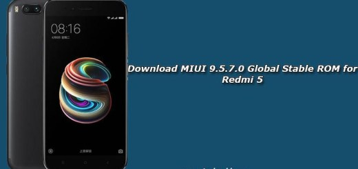 Download MIUI 9.5.7.0 Global Stable ROM for Redmi 5