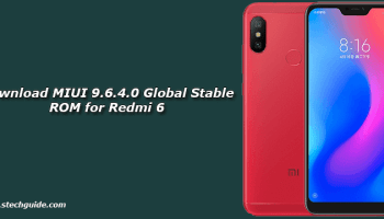 Download MIUI 9 6 4 0 Global Stable ROM for Redmi 4x