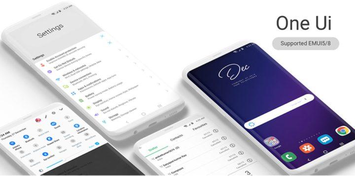 Descargar Galaxy S10 Theme para todos los dispositivos EMUI [One UI Theme]