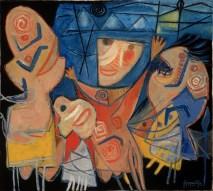 Corneille, Fete Nocturne, 1950.