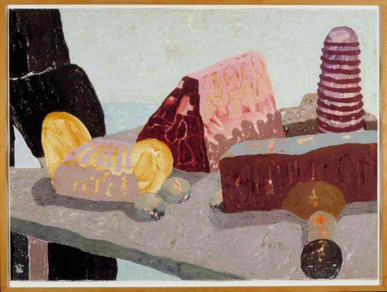 Erik Mattijssen, Aan tafel met San Roque, 1995, NOG Collectie