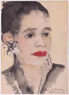 Nola Hatterman, Portret Londen, 1951