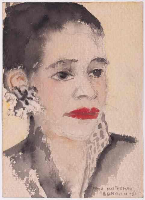 Nola Hatterman, Portrait London, 1951