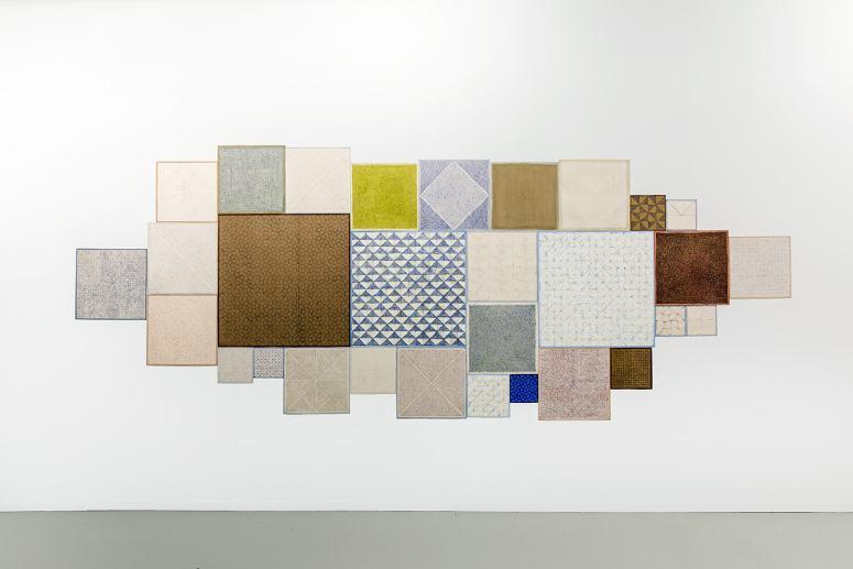 Fatima Barznge, Study of Square/Zamzam, 2017-2019, collectie Stedelijk Museum Schiedam/ NOG Collectie. Fotografie: Aad Hoogendoorn
