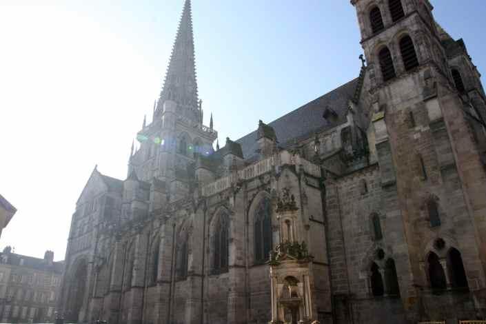 Kathedraal St-Lazare in Autun